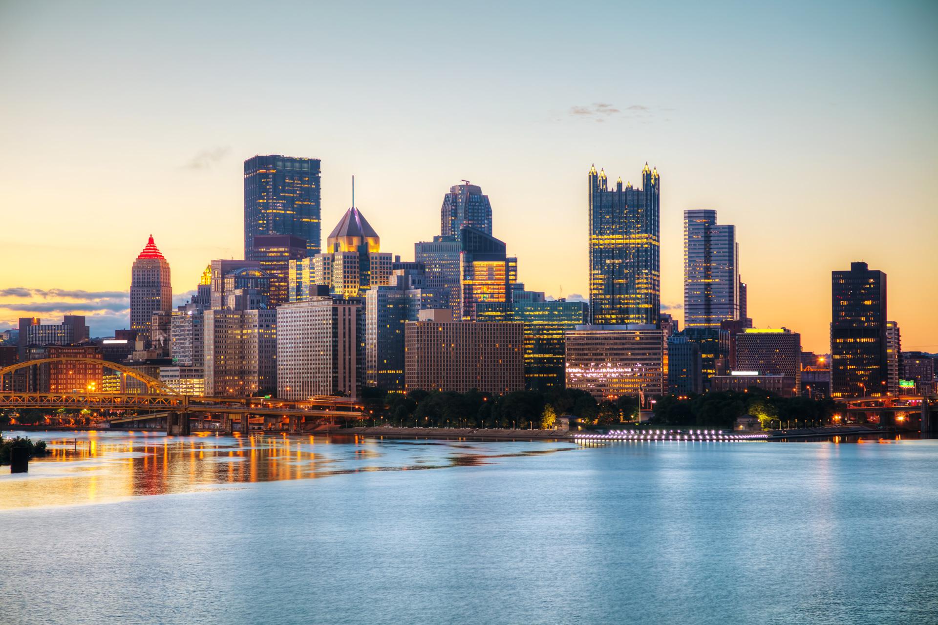 Pittsburg-Skyline